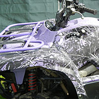 Hydrographic Printing Icon showing a printed ATV